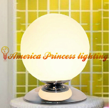 Creative fashion touch lamp dimmer glass ball lamps, glass materials, E14, AC110-240V