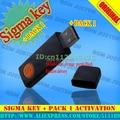 Sigma chave sigmakey dongle + pack1 para alcatel para huawei para mtk para motorola flash de reparo desbloqueio