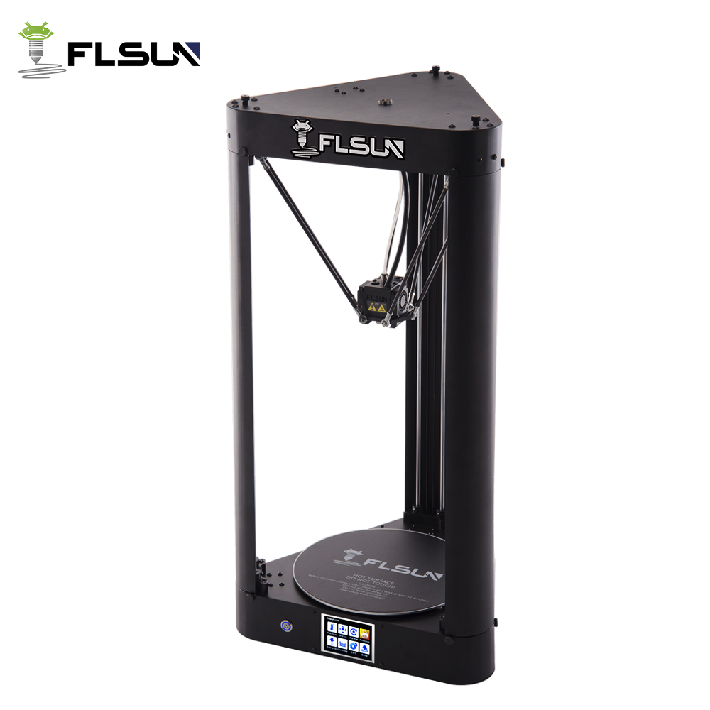 FLSUN-QQ 3D Printer Large Printing Size Pre-assembly High Speed Metal Frame Delta 3d Printer Wifi Control Hot Bed SD Card