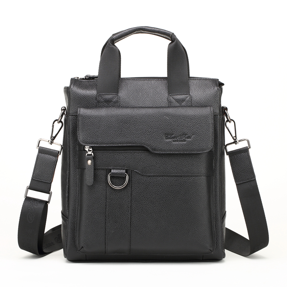 CHEER SOUL Men Briefcases Genuine Leather Men's Bag male business Document Laptop Bags Crossbody Bags Messenger Bag Totes 2018 cheer