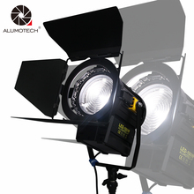 ALUMOTECH Daylight 100W LED Fresnel Spot LED Continuous Lamp  For Film Camera Video Studio Photography Supporting