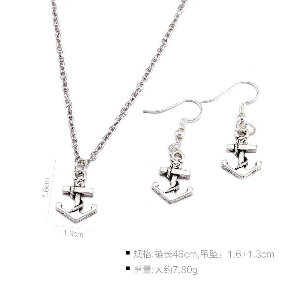 anchor joyeria conjuntos taki seti damen handmade e acessorios spiritual indien making Dahu Rico jewelry sets en argent
