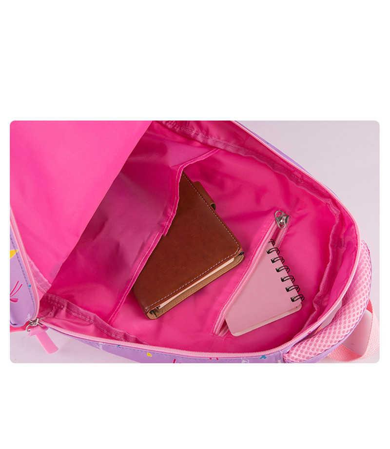 Children School Bags Set High Quality School Backpack For Girls Waterproof Satchel Kids Book Bag cute printing ruceksack mochila
