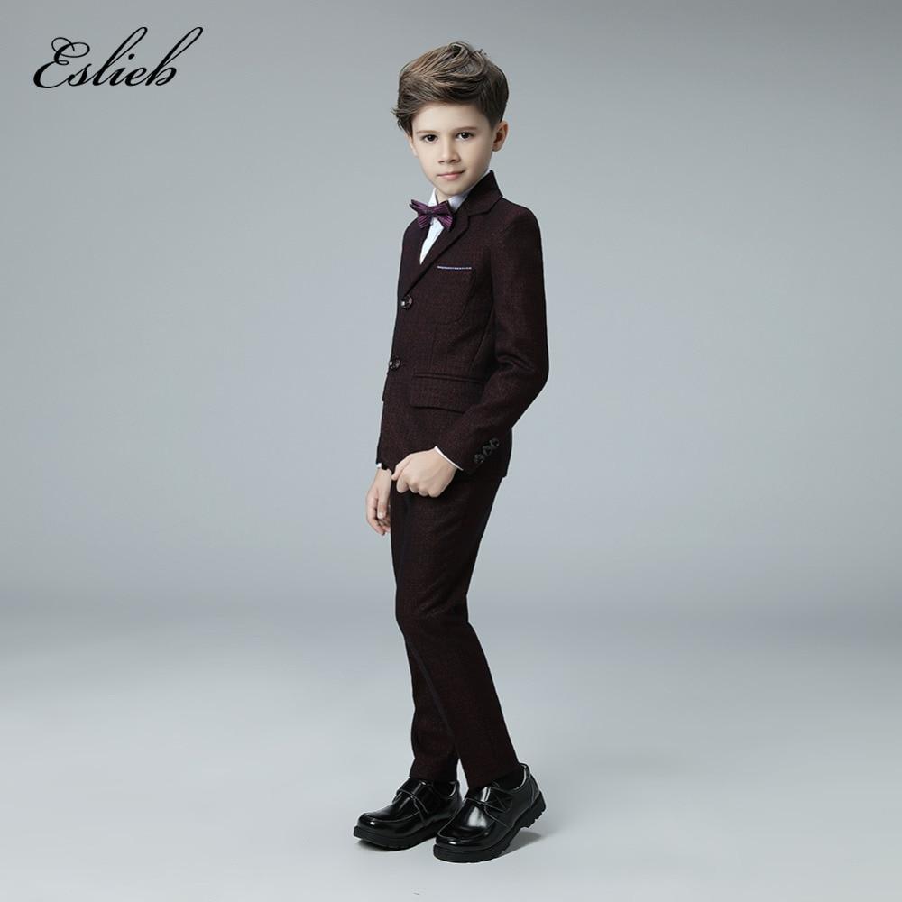 Nach maß 4 stücke top mode baby jungen kinder jungen anzug für ...