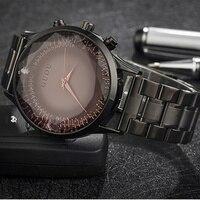 GUOU Top Brand Luxury Diamond Watch Women Watches Stainless Steel Women S Wrist Watches Clock Saat