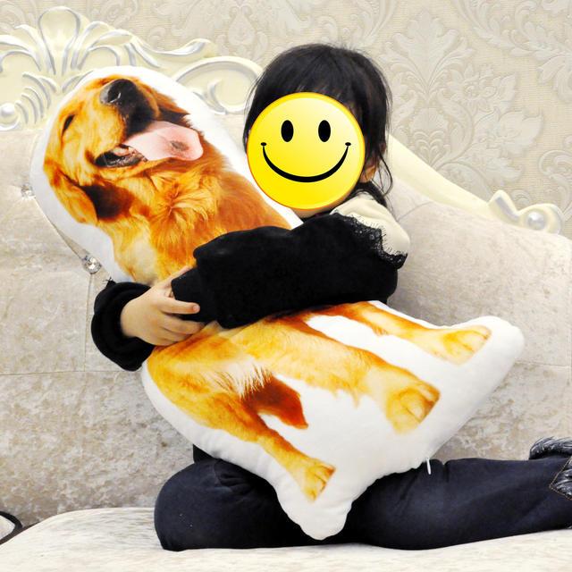 Photo customization pillow creative pet travel pillow photo almofada oreiller hold pillow shaped wedding decoration animal dog
