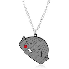 MQCHUN HOT Movie Riverdale necklaces Grey Enamel Crown Pendants High Quality metal pendant Accessories Women Men jewelry(China)