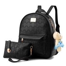 Модные женские туфли рюкзак для девушки 2017 рюкзаки черный рюкзаки женская мода для девочек сумки дамы черный рюкзак