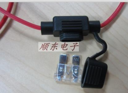 Medium-sized Car With A Line Fuse Holder Automotive Blade Insur Number Insur Cassette Waterproof Harness Together