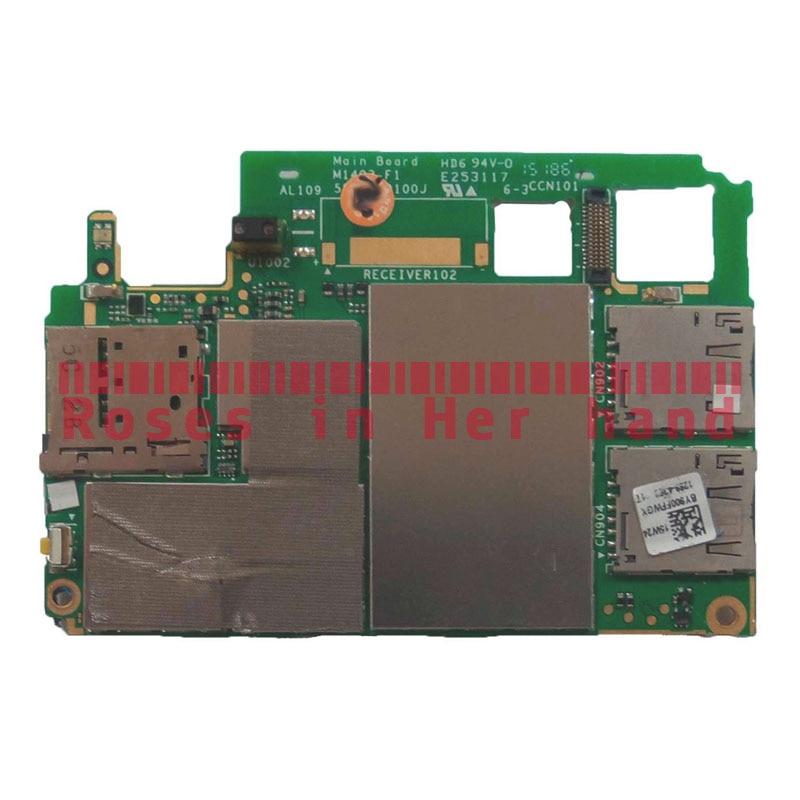 Working Original Unlocked For Sony Xperia M4 Aqua Dual-SIM E2312 E2333 E2363 Motherboard Logic Mother Circuit Board Lovain Plate