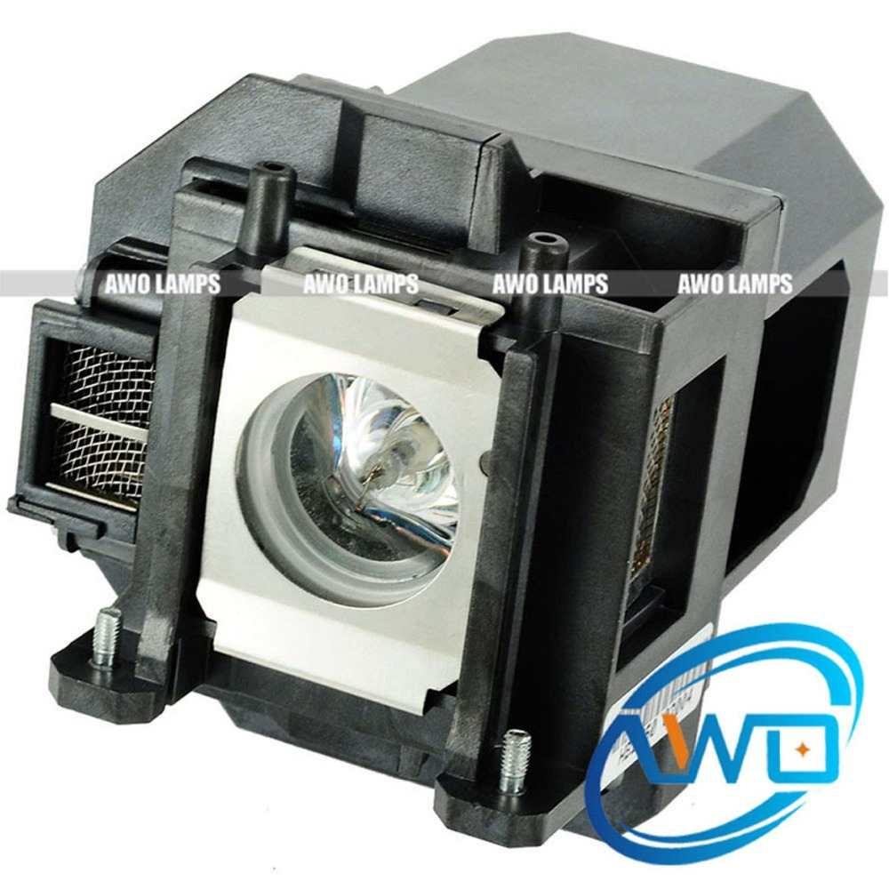 AWO High Quality Replacement Projector Lamp ELPLP53 for EB-1900 / EB-1910 / EB-1915 / EB-1920W / EB-1925W / PowerLite 1925W original projecotor bulb elplp53 230w for eb 1830 eb 1900 eb 1910 eb 1915 eb 1920w eb 1925w eb 1925w emp 1915 eb c1925 h314a