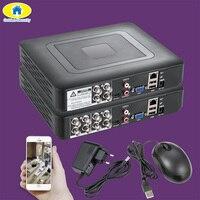 4/8 Channel AHD DVR Surveillance Security CCTV Recorder DVR 4CH 720P / 8CH 1080N Hybrid DVR for Analog AHD IP NTSC PAL