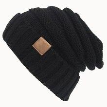 Женская Мода Зима Теплая Шерстяной Пряжи Крючком Вязаная Лыжная Шапочка Hat Cap