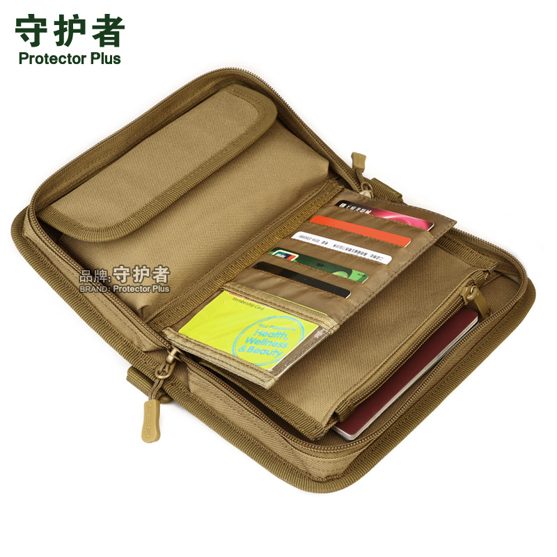 Tactical MOLLE Clutch Wallet , Passport Pack ,Camouflage Outdoor Sports Hand Bag  A4439