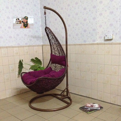 Residential Furniture Lazy Cradle Swing Chair Indoor And Outdoor Dormitory  Balcony Hammock Hanging Basket Wicker
