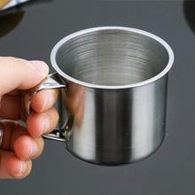 100ML Stainless Steel Coffee Tea Cup for CampingTravelHome Use Кубок