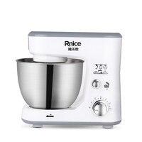 220V 4L Multifunctional Electric Food Blender Cream Beater For Bread Milkshake Food Mixer Dough Mixer EU