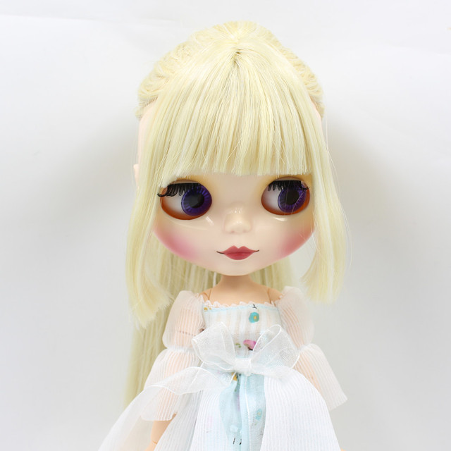 ICY Neo Blythe Doll Blonde Hair Jointed Body