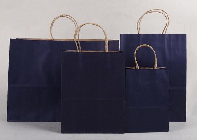40x30x8 cm/pas cher petit sac cadeau de festival de papier kraft