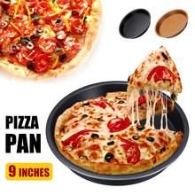 9 ''нескользящий круглый противень для пиццы, приготовления пиццы, блинов, яиц, аксессуары для фритюрницы, кухонные инструменты для приготовления пищи, подходит для 5,3-6.8QT, воздушная фритюрница