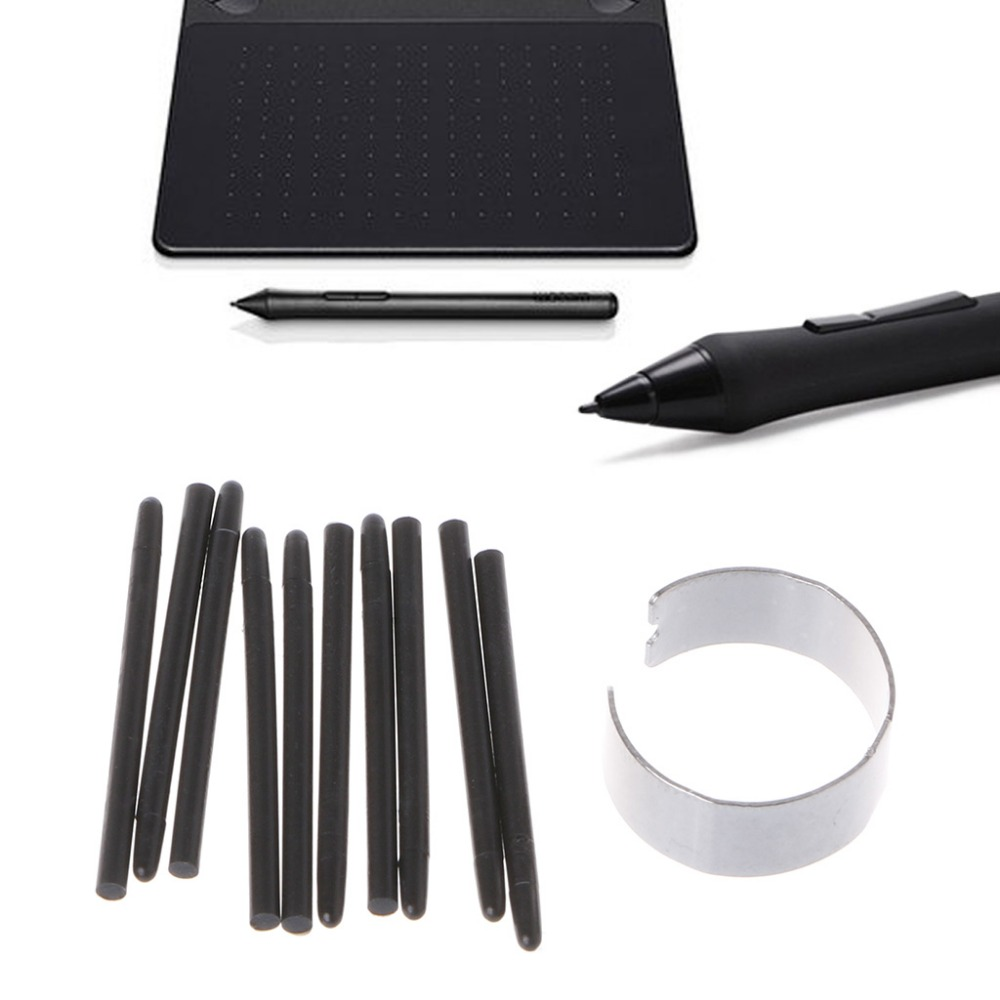 10 Pcs Graphic Drawing Pad Standard Pen Nibs Stylus For Wacom Drawing Pen HOt Sale 2018 Electronics Stocks