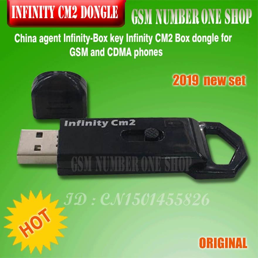 Gsmjustoncct 2019 d'origine nouvelle Chine agent Infinity-Boîte Dongle Infinity CM2 Dongle Boîte pour GSM et CDMA téléphones Livraison gratuite - 2