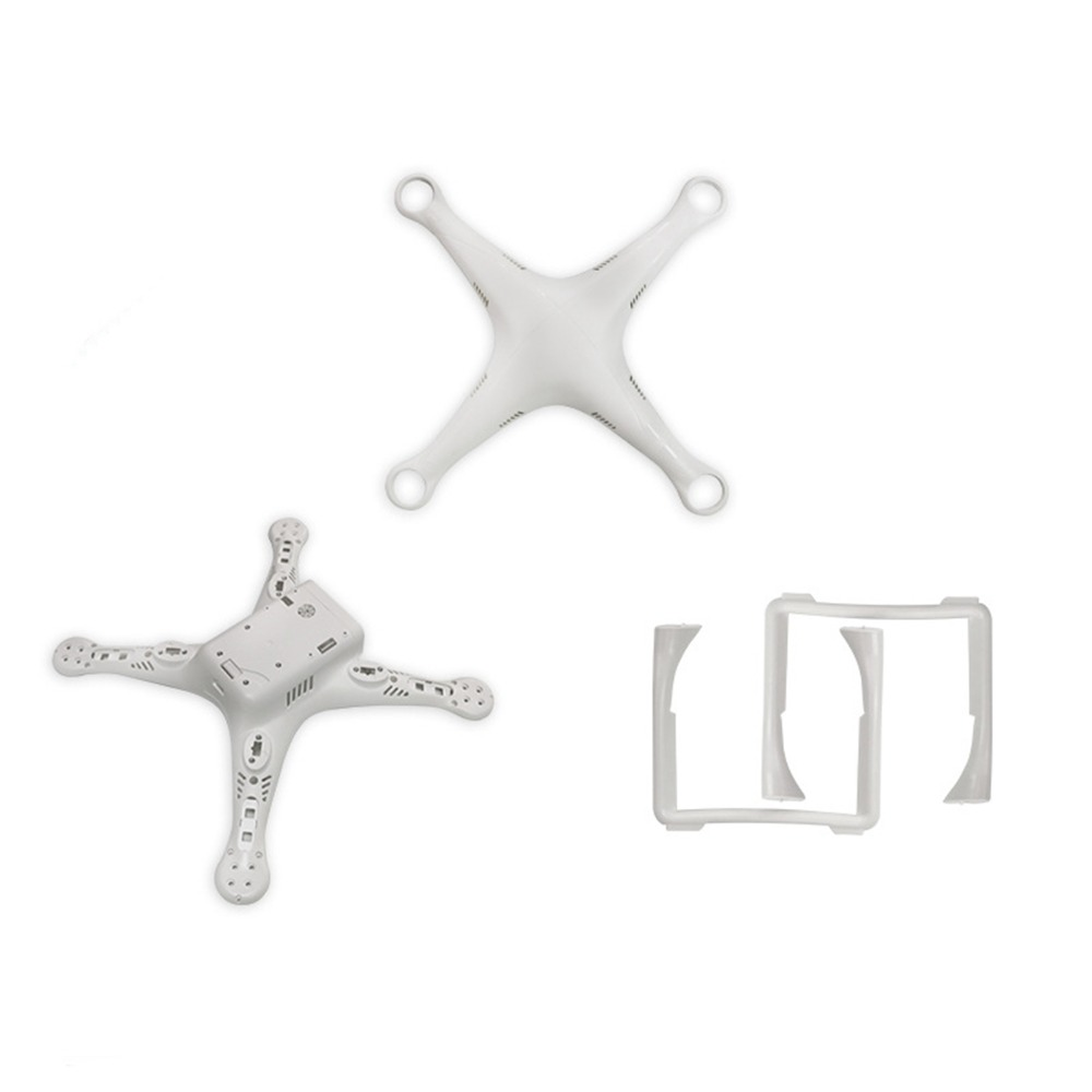 Original Replacement Body Shell Top Bottom Cover Case Landing Gear For DJI Phantom 3 Pro/Adv Drone Repair Parts Accessories New