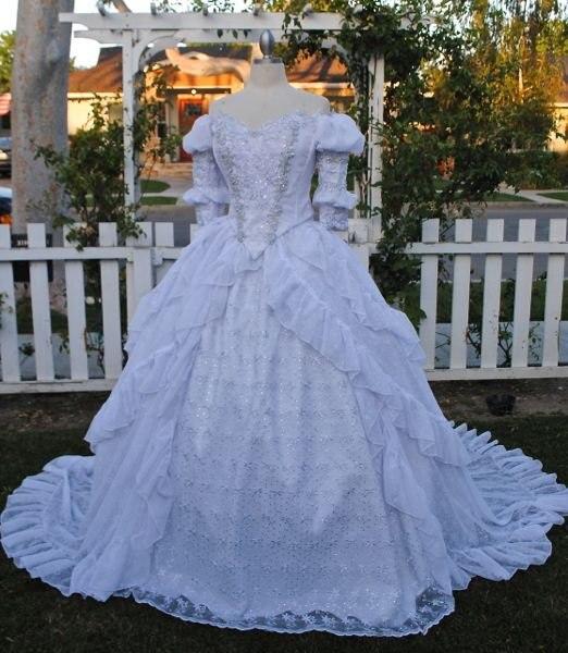 Sur vente R-077 19 siècle Victorienne Gothique Lolita/Guerre Civile Southern belle Halloween Ball robes Sz US 6-26 XS-6XL