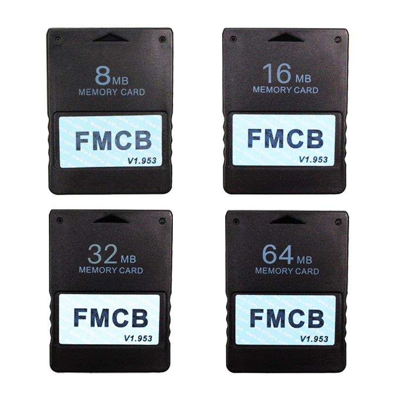 FMCB Free McBoot Card For Sony PS2 For Playstation2 8MB/16MB/32MB/64MB Memory Card v1.953 OPL MC Boot