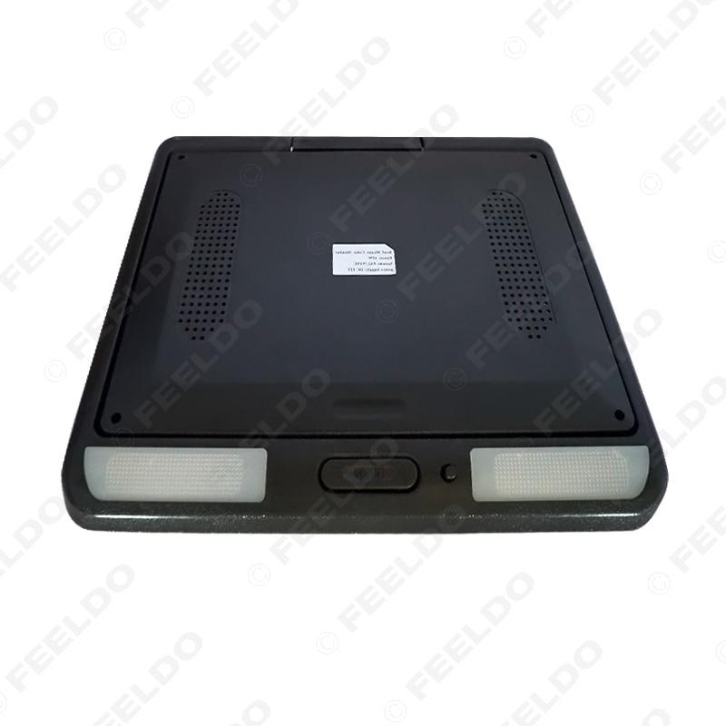 FEELDO 11.3 moniteur LCD TFT monté sur le toit entrée vidéo 2 voies rabattable moniteur voiture/Bus/camion # HQ1284 - 4