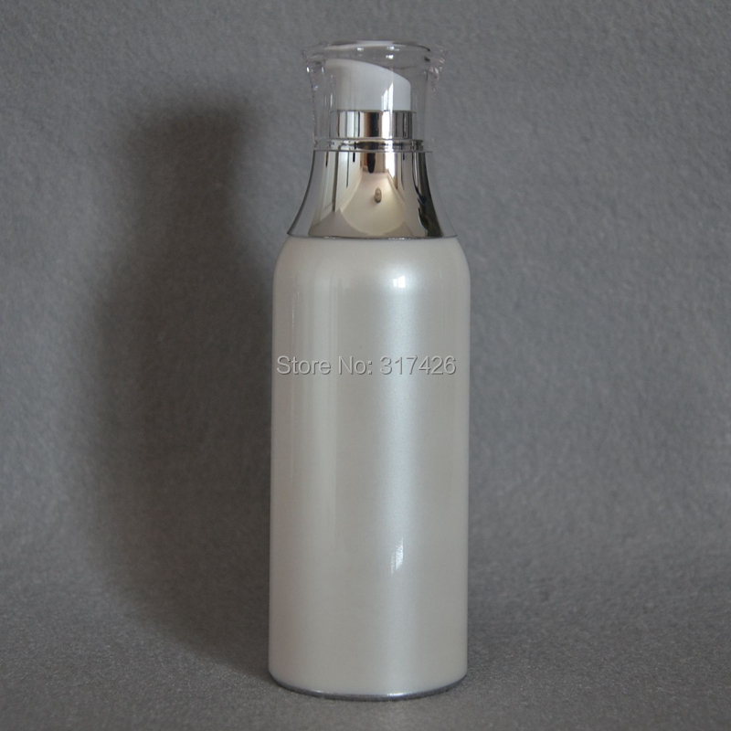 100ml airless bottle high quality petg vacuum pump bottles lotion bottle used for Cosmetic Container free shipping promotion 10pcs lot 100ml pet clear bottle 100ml flat lotion bottles sprayer bottles 100ml