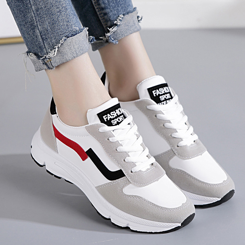 Fashion 2019 Casual Shoes Woman Summer Comfortable Breathable Women White Shoes Female Platform Sneakers Basket Chaussure Femme