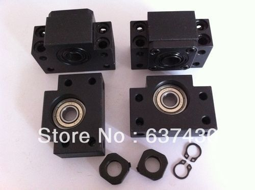 New 10 sets ( BK35/BF35 ) Ball Screw End Support bearings ball screw support bearings zkln2068 2rs