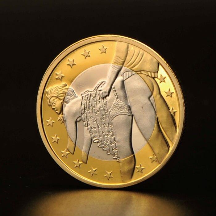 Монета 6 евро фото водка 1990 года цена