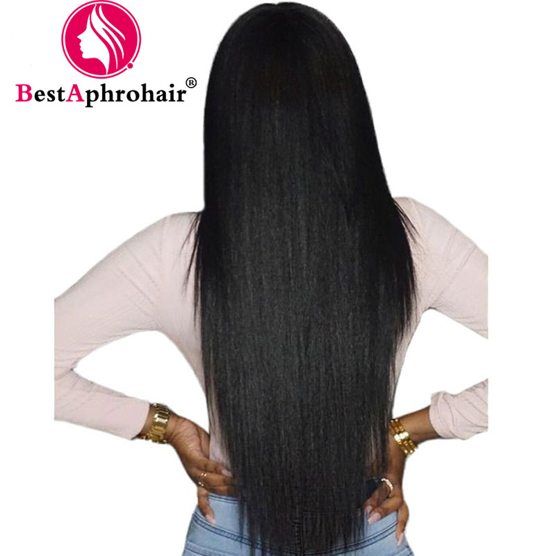 13 4 Lace Front Human Hair Wigs For Black Women Pre Plucked Brazilian Straight Remy Human