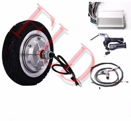 8 Quot 350w 36v Disc Brake Electric Brushless Hub Motor