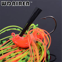 1Pcs 7g 10g 14g Spinnerbait Black Large Mouth Bass Fish Metal Bait Sequin Beard Pike Fishing Tackle Rubber Jig Soft Fishing Lure