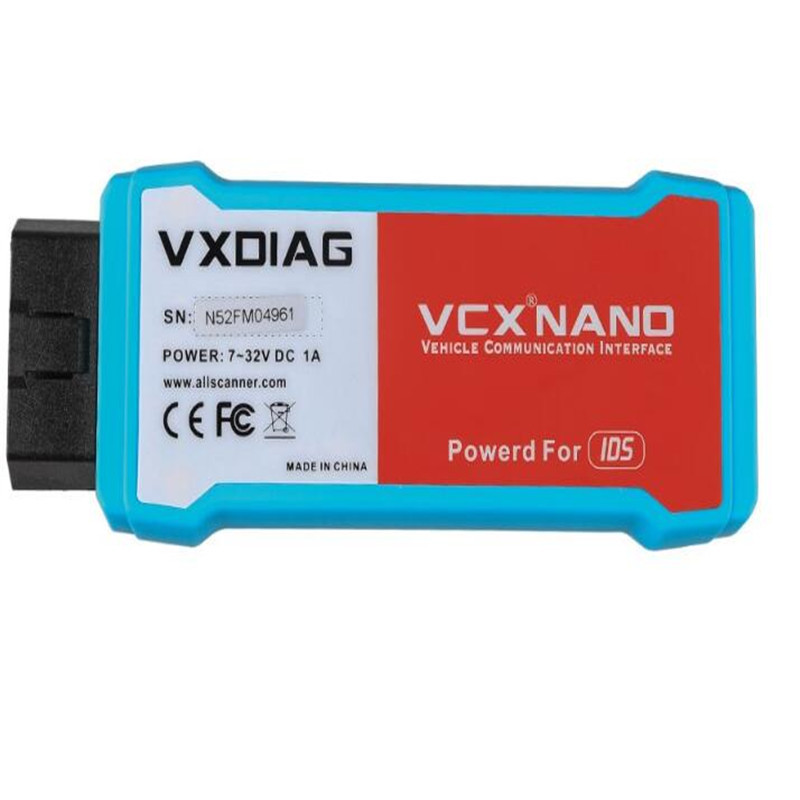 Hot Newest VXDIAG VCX NANO for F0rd for Ma z da 2 in 1 V109 Auto Diagnostic Tool Scanner