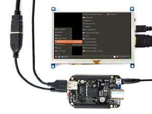 Image 5 - 5 بوصة مقاوم شاشة تعمل باللمس LCD G 800x480 HDMI عرض شاشة الكمبيوتر يدعم التوت Pi/BB الأسود/الموز Pi/البرتقالي Pi الخ