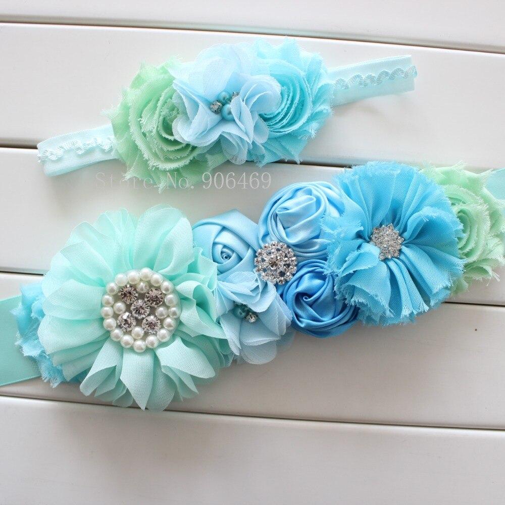 Aliexpress Buy Fashion Blue Flower Beltgirl Woman Sash Belt