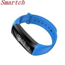 Smartch M2S M3 сердечного ритма Смарт браслеты крови Давление монитор Шагомер Смарт часы трекер фитнес-браслет PK M2