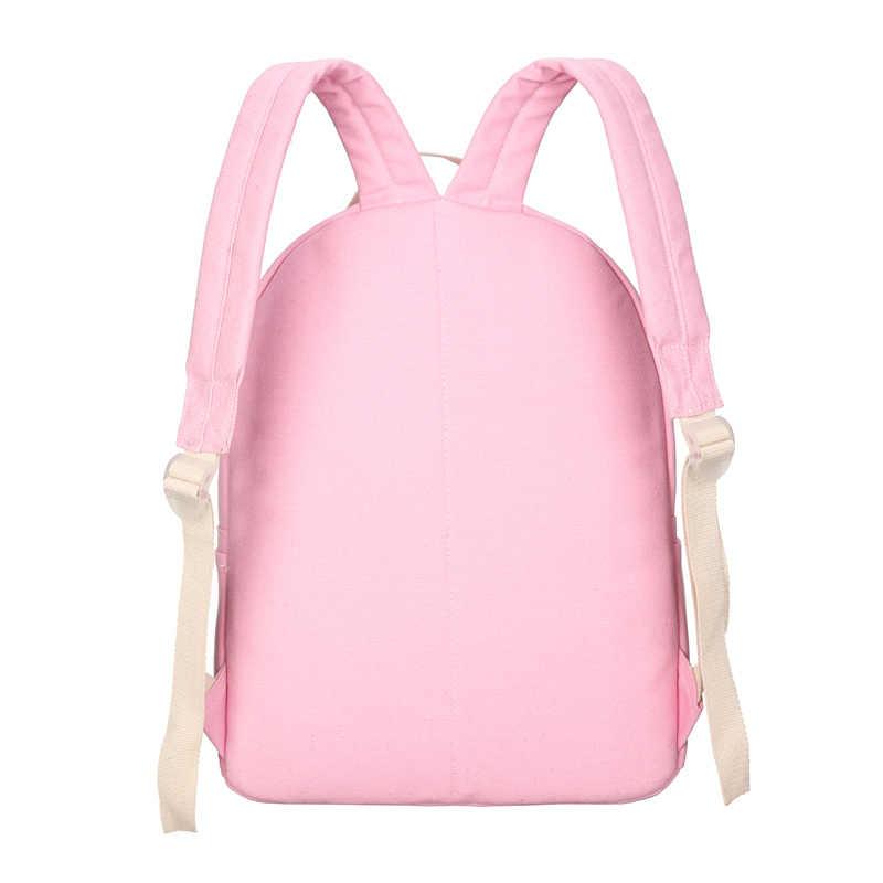 2019 новая парусиновая школьная сумка с принтом облаков женский рюкзак высокое качество школьные сумки для девочек-подростков милые книжные сумки Mochila 5 компл.