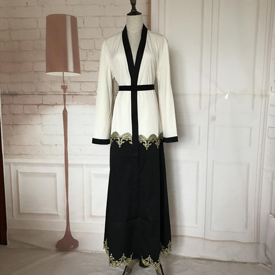 Popular White Abaya-Buy Cheap White Abaya lots from China White ...