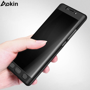 Image 2 - Aokin For Xiaomi Mi Note 2 Case Luxury Ultra Thin Matte PC 360 Full Cover for Xiaomi Note2 Mobile Phone Case with Tempered Glass