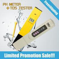 Digital PH Meter + TDS Tester Ph for drinking water tds meter tds tester ph meter digital PH tester pocket TDS 3 water tester