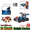 LEPIN 14022 704Pcs Nexu Knights Axls Rollender Wachturm Model Kits Anime Figures Building Blocks Brick Toys