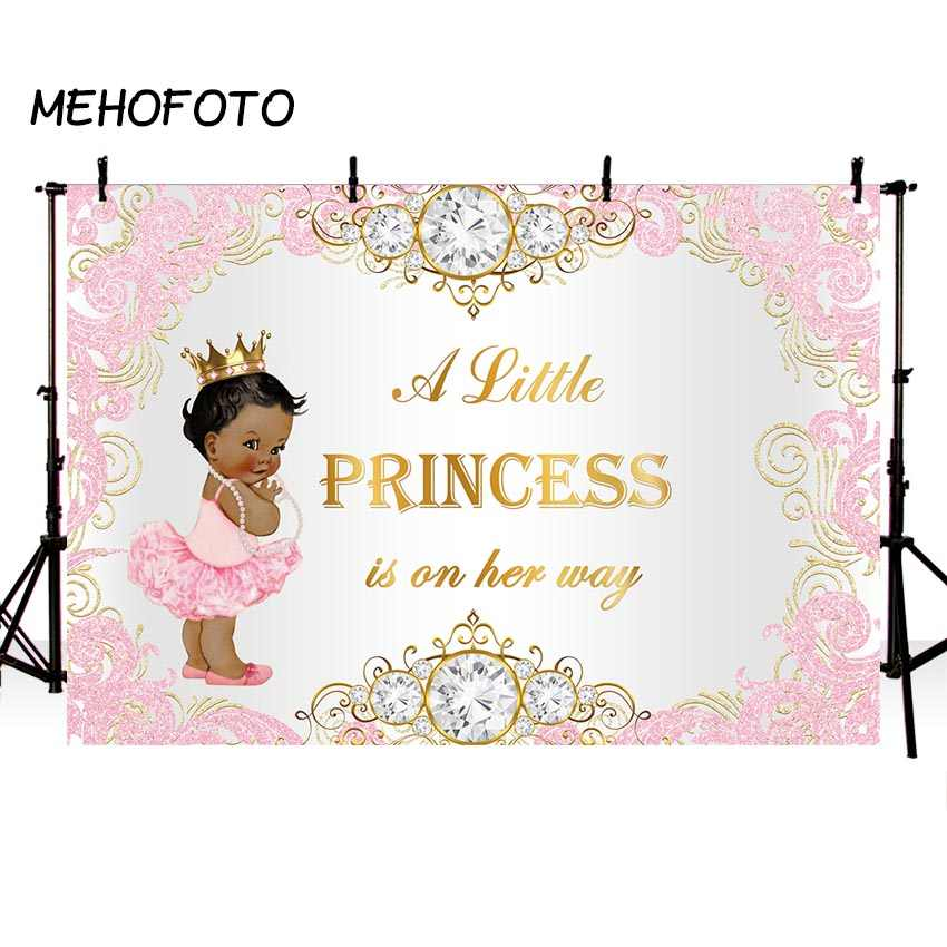 Cartoon Cute Cherub Girl Birthday Photography Background Vinyl 10x6.5ft Happy Birthday Princess Royal Crown Backdrop Pink Leather Lattice Wall Baby Girl Toddler Photo Shoot Baby Shower
