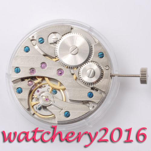 Newest Hot Fashion Luxury Vintage 17 Jewels 6497 ST3600 Mechanical Hand Winding Watch Movement