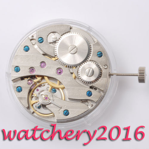 Newest Hot Fashion Luxury Vintage 17 Jewels 6497 <font><b>ST3600</b></font> Mechanical Hand Winding Watch Movement image