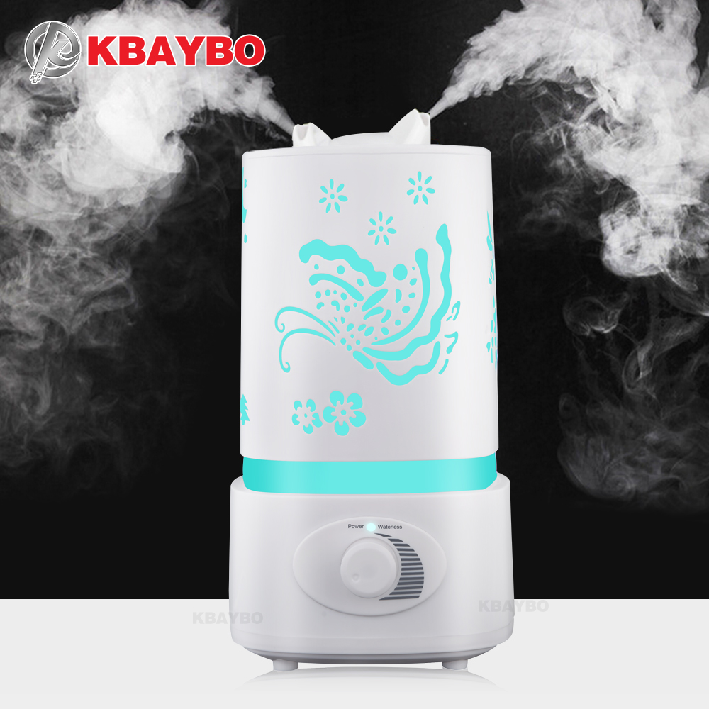 1500ML Air Humidifier Aroma Diffuser 7 Color LED With Carve Essential Oil Diffuser Mist Maker for Home Office Baby Room все цены